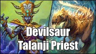 [Hearthstone] Devilsaur Talanji Priest