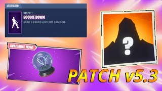 FORTNITE-* UNVEILED * SKIN FOOT ON THE ROAD! FREE EMOTE AND MORE!! PATCH v5.3