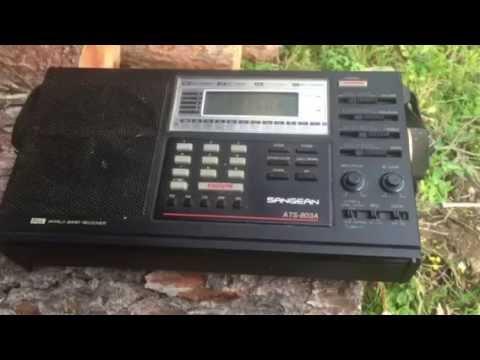RMI Florida 11750 KHz Excellent Signal: Sangean ATS-803A + 50 M Long-wire