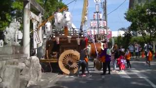 2017/07/15に行われた、聖武天皇社大祭の様子です。