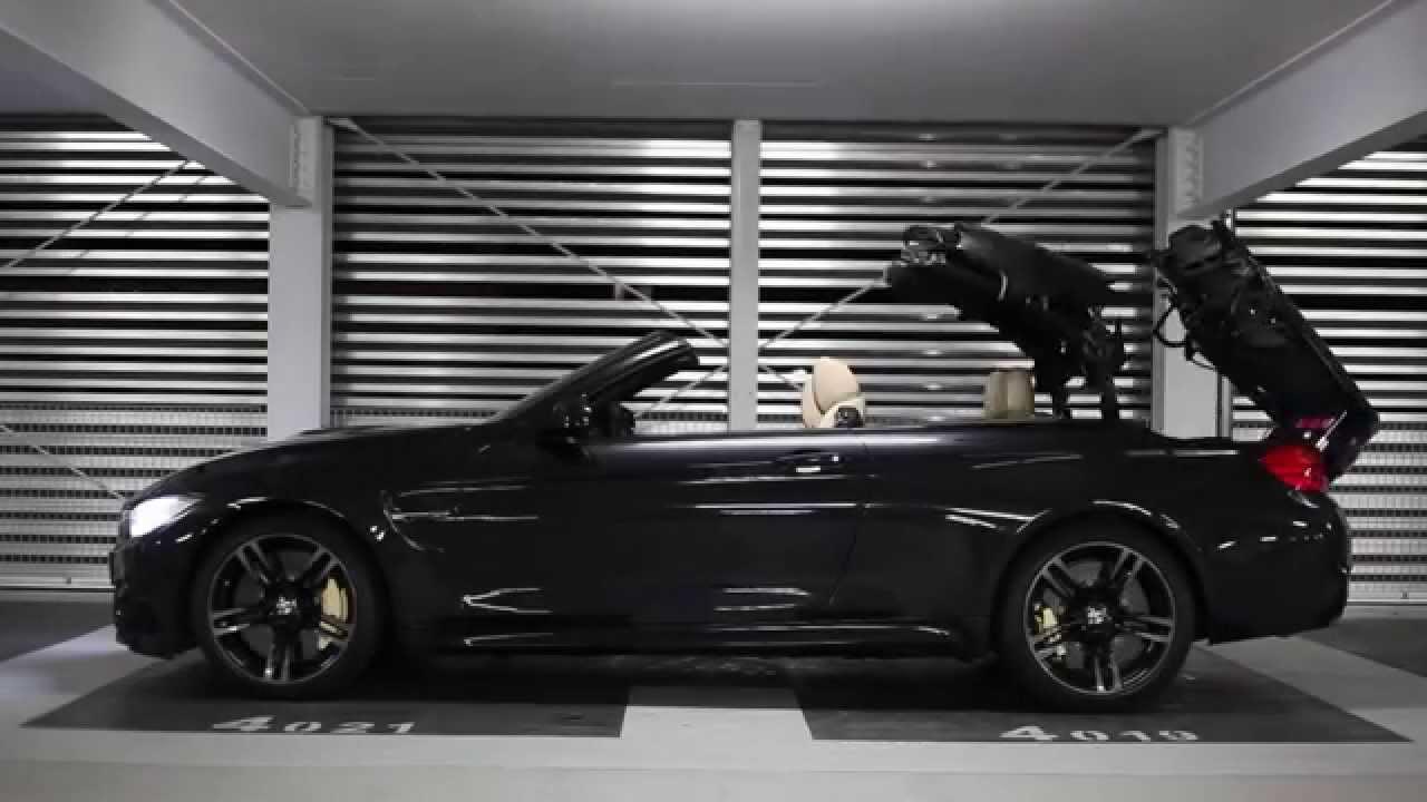 bmw m4 cabrio schwarz youtube. Black Bedroom Furniture Sets. Home Design Ideas
