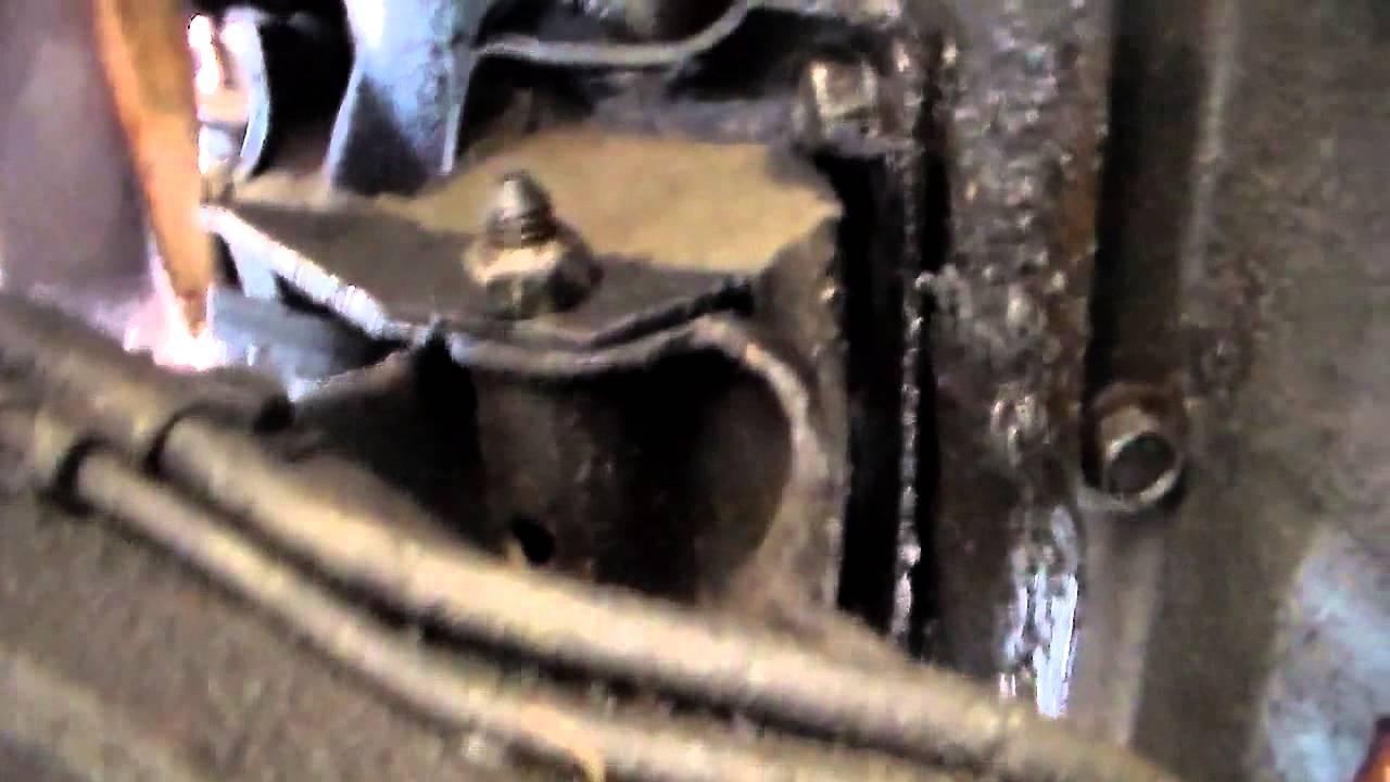 GM V6V8 motor mount replacement  YouTube