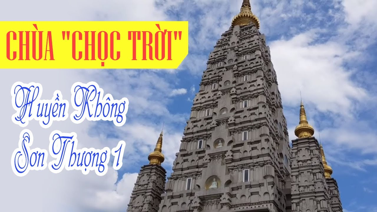 Chùa Huyền Không Sơn Thượng 1 (Một) ở Huế – Du lịch Huế Việt Nam