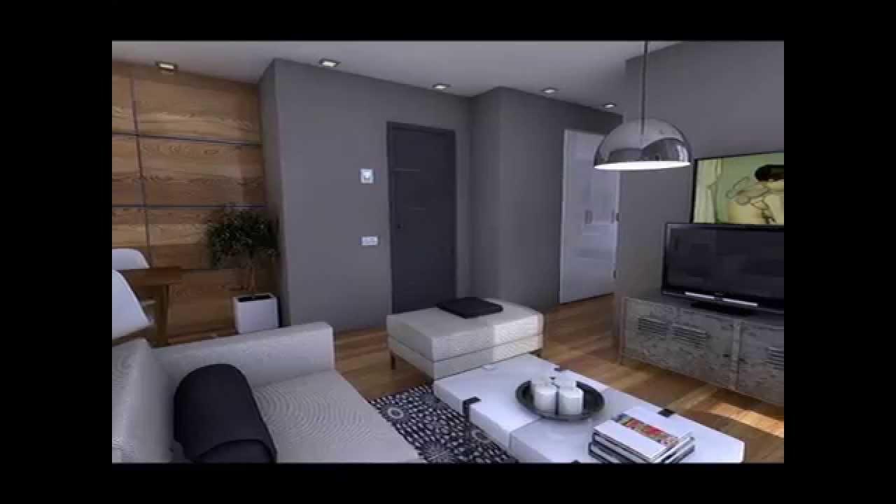 Diseo interior Apartamento 50m2  YouTube