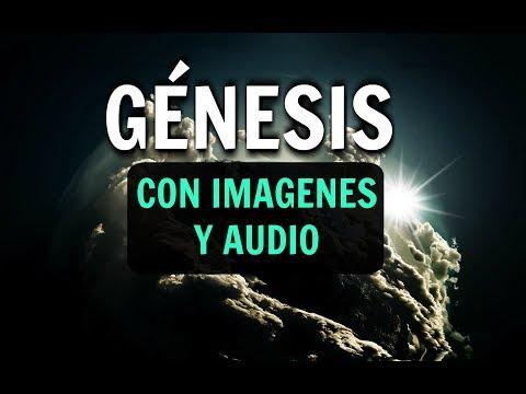 GENESIS 1, 2, 3 Biblia Hablada Reina Valera 1960 Con Imagenes, Audio y Animación, Leida y Letra