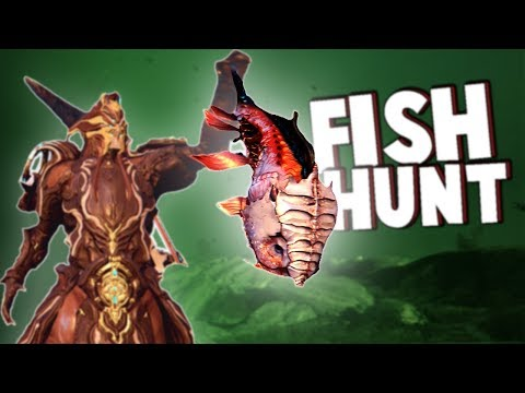 The GREAT FISH HUNT Multiplayer Competition!  Who Wins!?  (Warframe Multiplayer Gameplay Open World)