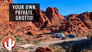 A Tour & Reטiew of Arch Rock Campground | Valley of Fire State Park, Nevada