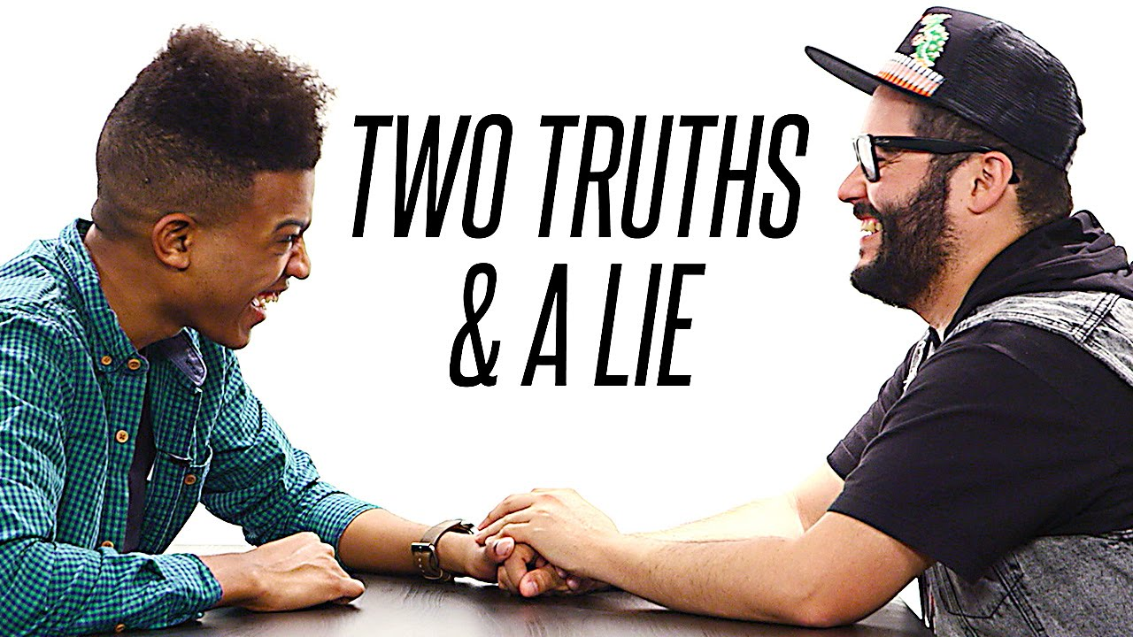 """2 truths and a lie essay """"two truths and a lie is a creative writing exercise in which students write about three events in their life, two true, one a lie, and the class tries to figure out which is the lie,"""" says."""