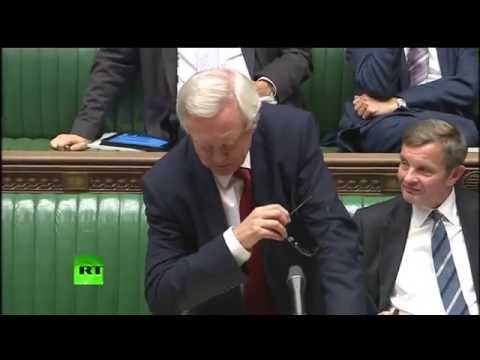 David Davis mocks Labour at Brexit debate