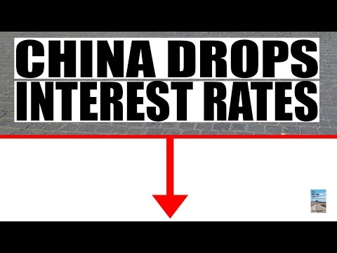 China's Reaction to Crashing Stock Market is Lowering Interest Rates!
