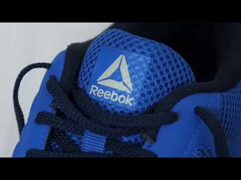 reebok-running-shoes-blue-unboxing