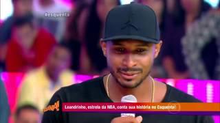 Leandrinho conta sua historia no Esquenta na Globo