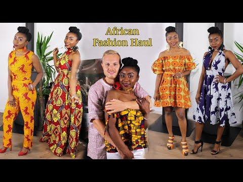 AFRICAN PRINT FASHION HAUL - 10 NIGERIAN ANKARA DRESSES