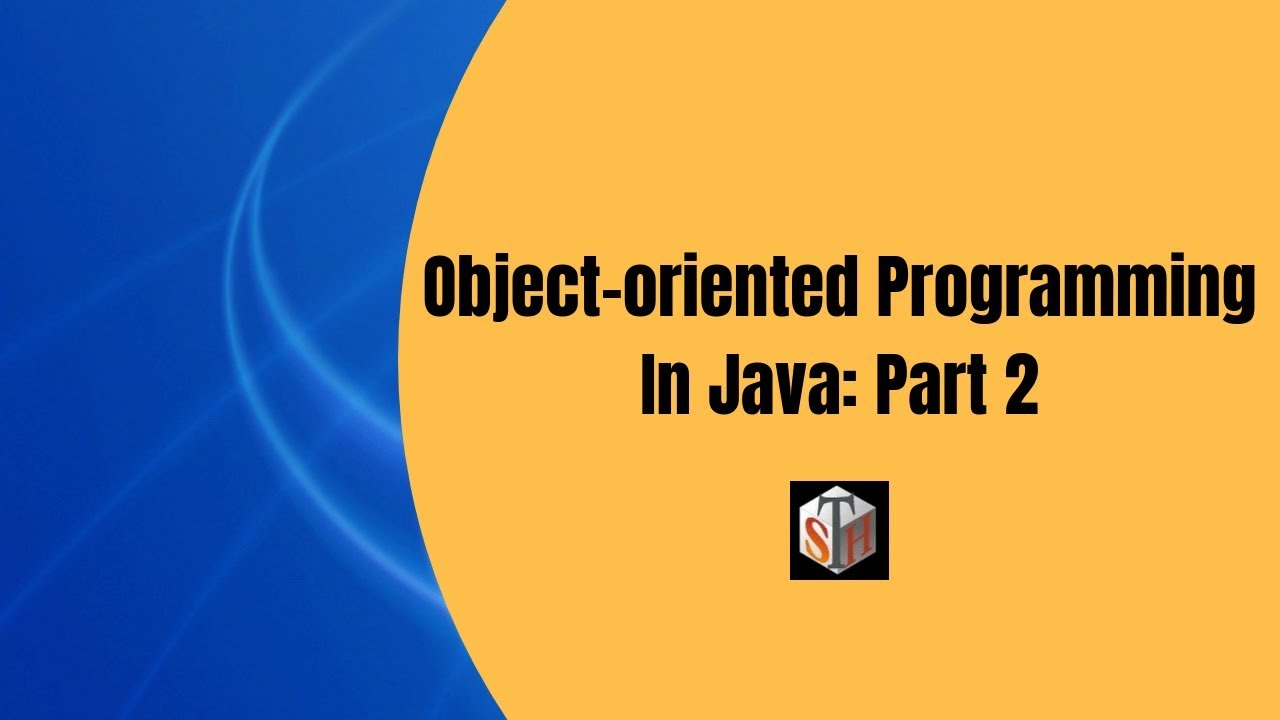 Oop Java Introduction To Object Oriented Programming In Java