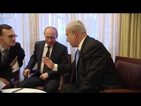 Putin humbles himself in front of his Zionist masters