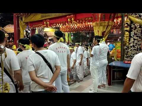 Nine Emperor's festival at Choa Chu Kang Dao mu Keng