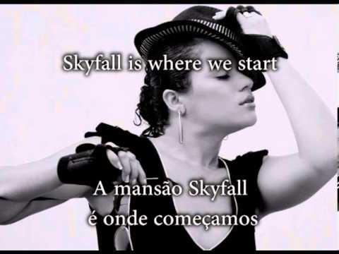 Adele  Skyfall Letra e tradução