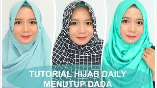 3 Tutorial Hijab Daily Menutup Dada Alyn Devian By Alyn Devian