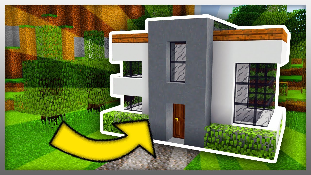 Smallest Modern House Tutorial Pe Windows 10 Youtube