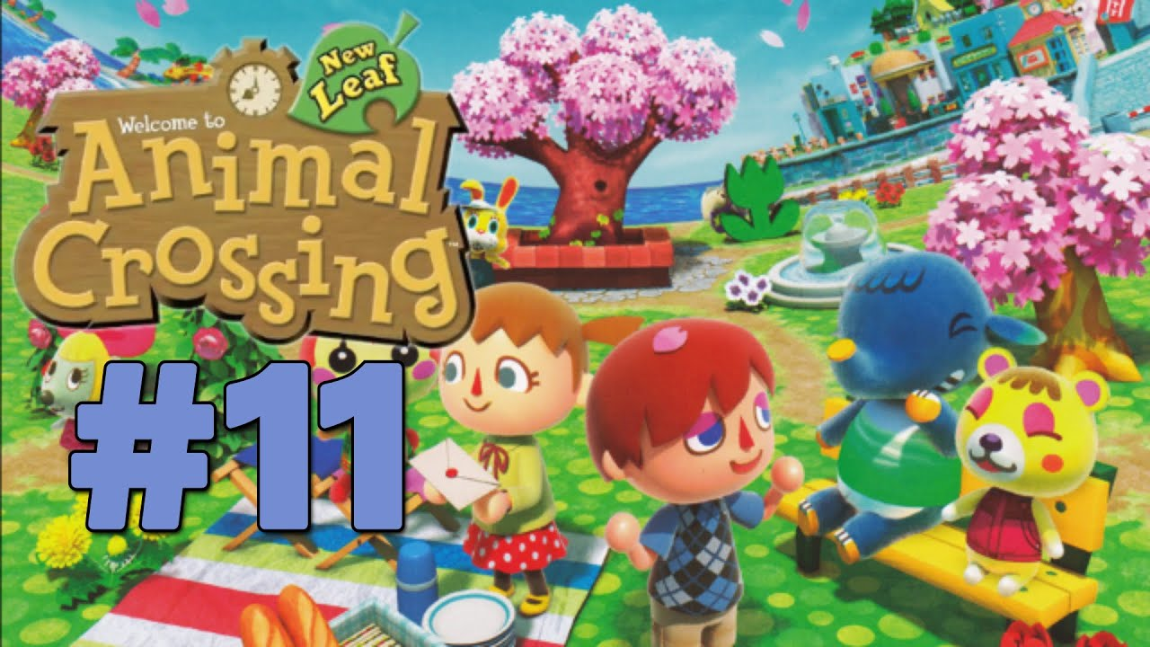 Let's Play Animal Crossing: New Leaf :: #11 :: Casual Day ...