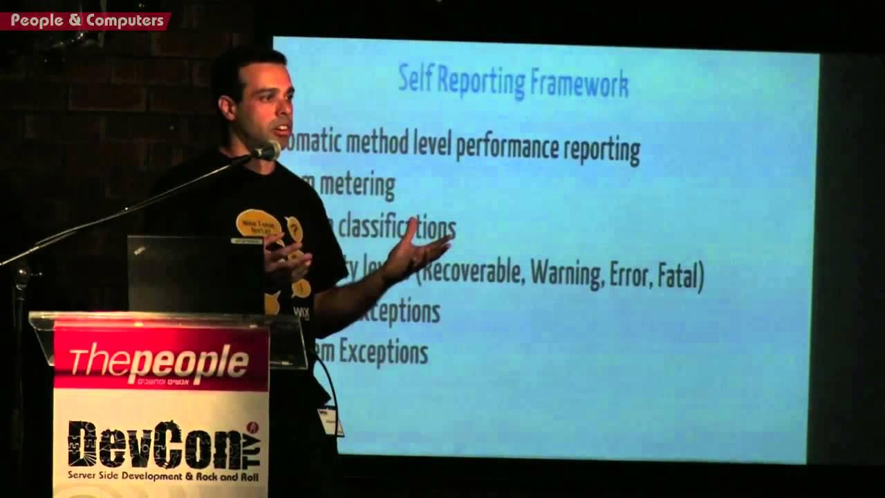Red Alert Or False Alarm, Lessons Learned Monitoring Production: Aviran Mordo  & DevconTLV October