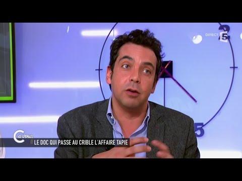 Patrick Cohen sur l'affaire Tapie - C à vous - 31/03/2015