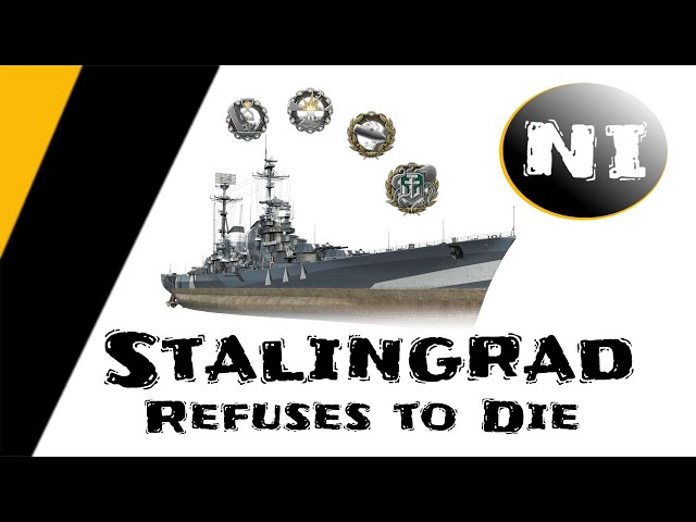 WoWS - Stalingrad refuses to die