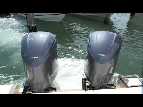 Yamaha Joystick Control In Action at the Miami Boat Show