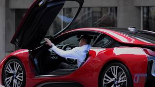 2017 bmw i8 protonic red edition plug in hybrid review