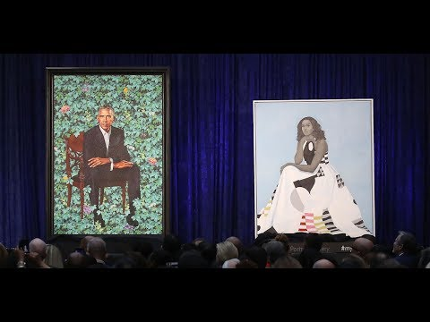 I'm not liking the Obama portraits right now.
