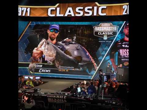 Day #3 update🚨John Crews at the 2020 Bassmaster Classic