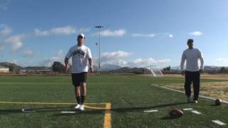 Arena League Kicker Marco Capozzoli Kicking Lessons