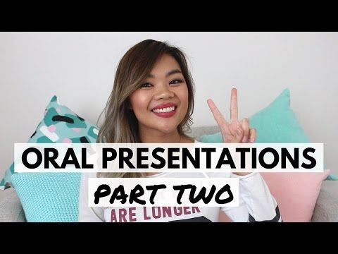 Oral presentations | How to do speeches | Part 2