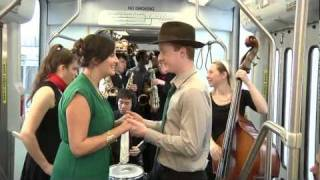 """The Trolley Song"" - Beantown Swing Orchestra music video"