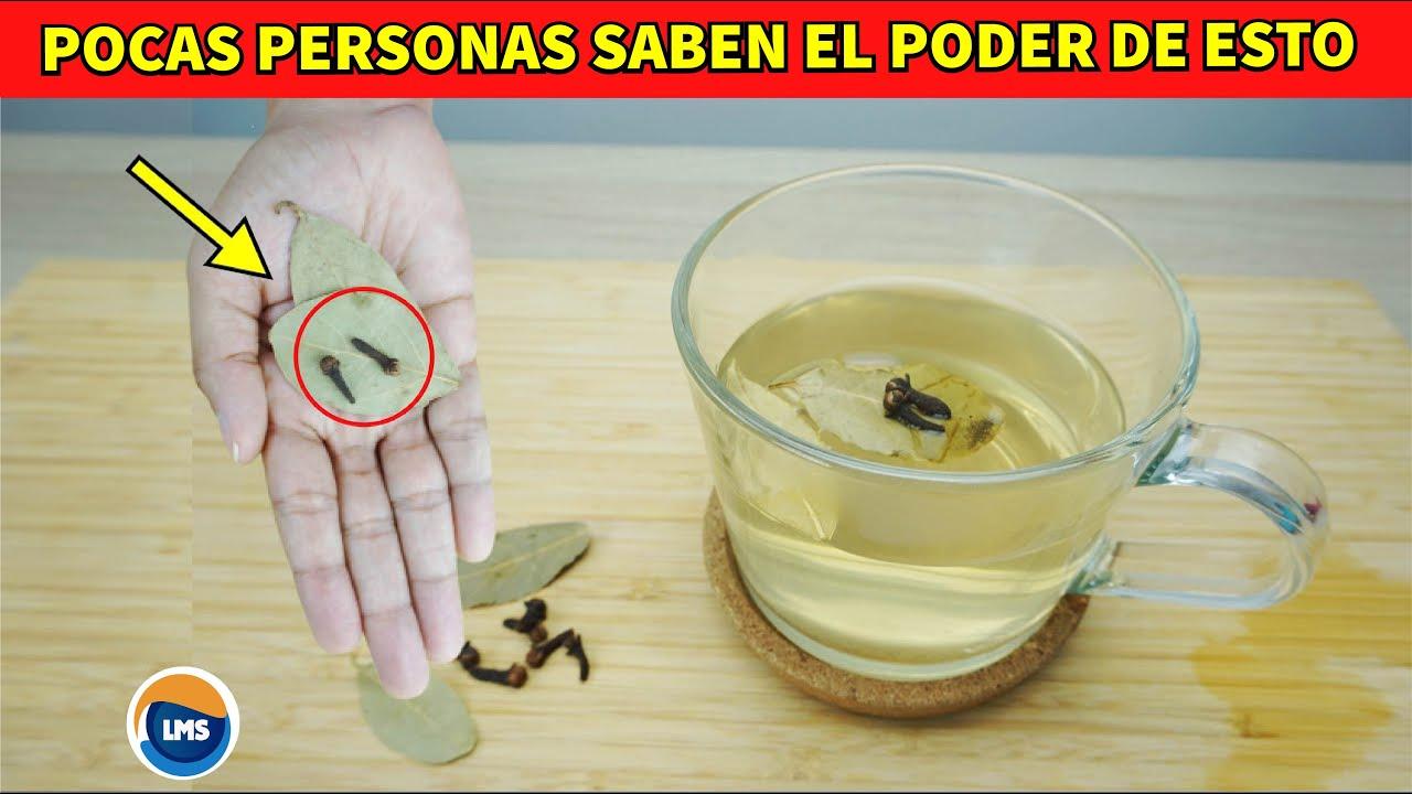 Un Milagroso Remedio que pocos conocen - Infusión de 2 CLAVOS DE OLOR con 2 HOJAS DE LAUREL