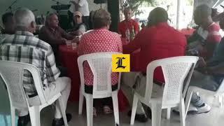Abogados de La Vega realizan fiesta en celebración de traslado de fiscal