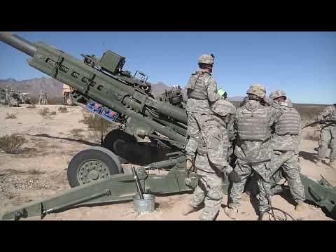 4-27 Field Artillery Live Fire (HD Video)