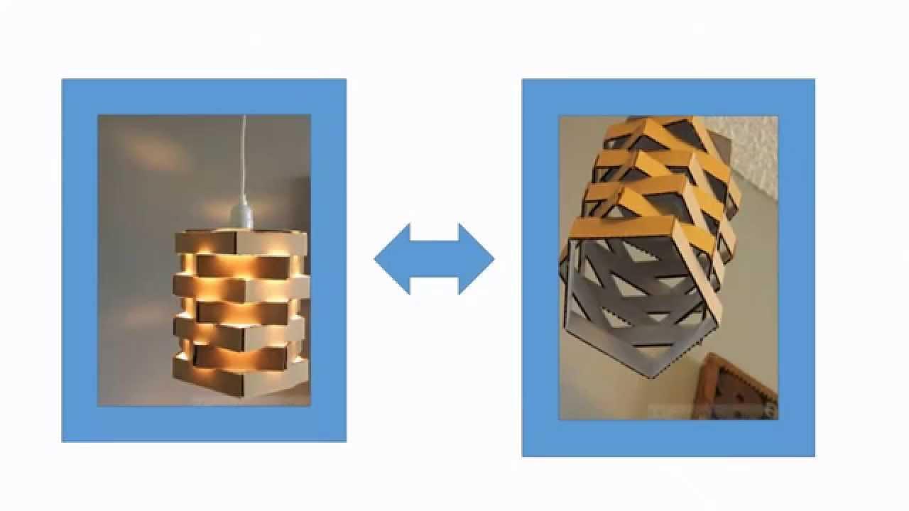 Cara Membuat Lampu Gantung Dari Kardus  Bekas YouTube