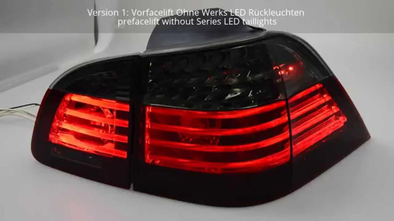 Swcelis Led R 252 Ckleuchten Bmw 5er E61 Touring 04 10 Red