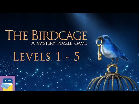 The Birdcage: Levels 1 2 3 4 5 Bluebird Walkthrough Guide + All Gems & Letters (by Kaarel Kirsipuu)