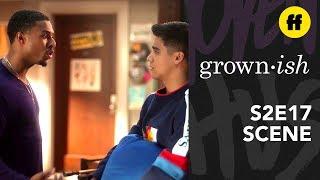 grown-ish Season 2, Episode 17 | Doug & Vivek Talk It Out | Freeform