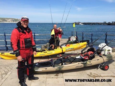 Kayak Fishing Swanage UK