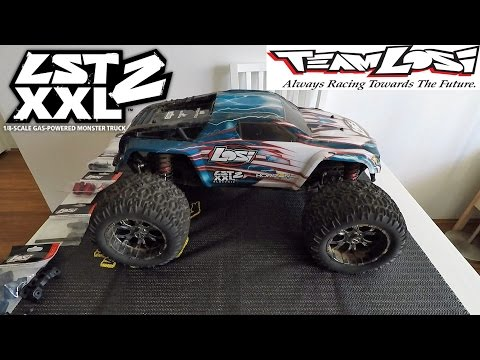 Losi LST2 XXL2E Electric 1/8 # 12 Month Bash Review # Beast