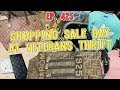 SHOPPING SALE DAY AT VETERANS THRIFT | VLOG EP. 425