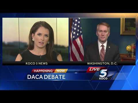 Sen. James Lankford speaks about his legislation in response to DACA debate