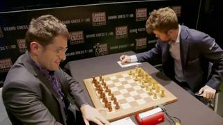 MASTER ENDGAME!! Magnus Carlsen vs Levon Aronian || London Chess 2019