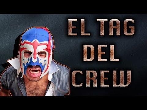 EL TAG DEL CREW- ALEX MONTHY ( EL ESCORPION DORAMON)