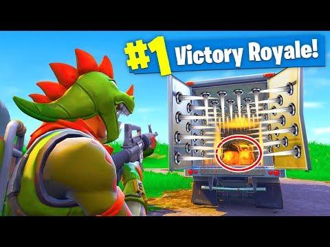 THE TRAP TRUCK! Fortnite: Battle Royale