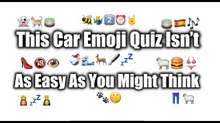 I Bet You Cant Score %100 on this Car Emoji Quiz