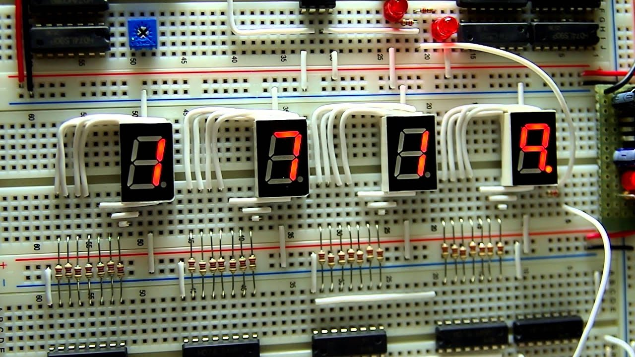Traffic Light Circuit Using 4017wmv Youtube